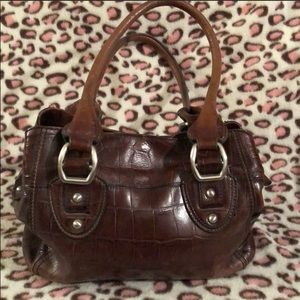 👜 vintage fossil 👜 leather handbag